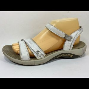 Merrell Dahlia Leather Ankle Strap Sandals 9